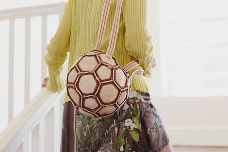 Recycled Soccer Ball Bag