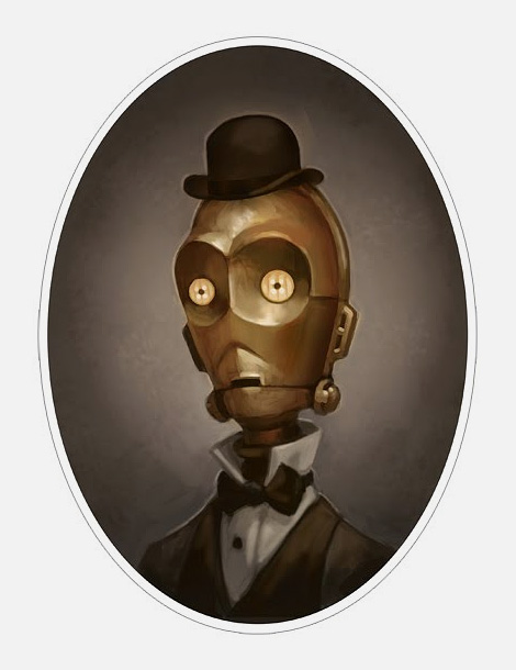 Star Wars Victoriana portraits