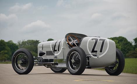 1931 Miller V16 racing car