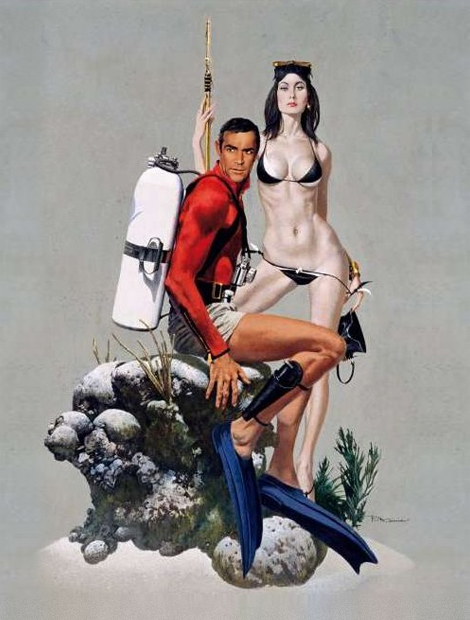 Robert McGinnis: James Bond