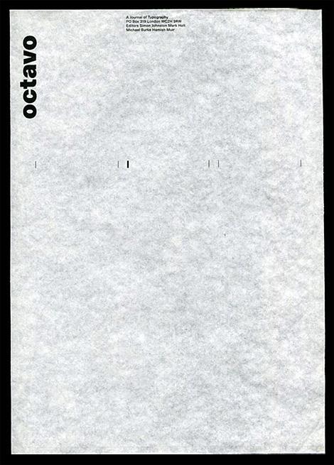 Octavo letterhead