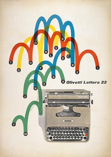 Giovanni Pintori: Olivetti poster
