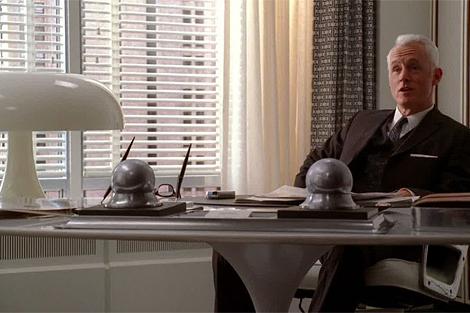 Roger Sterling's office.