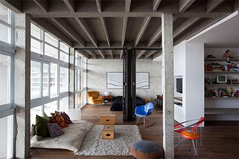 Oscar Niemeyer's loft