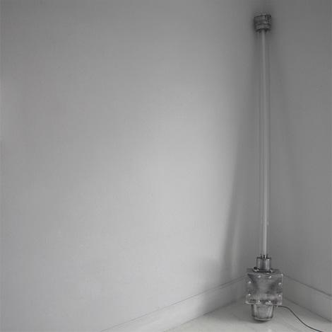Vintage Simplex industrial lamp