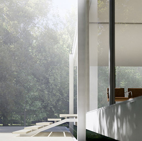 Farnsworth House renderings