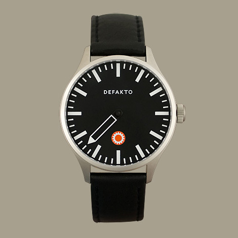 Defakto single hand watch