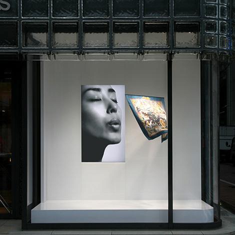 Maison Hermès Window Display
