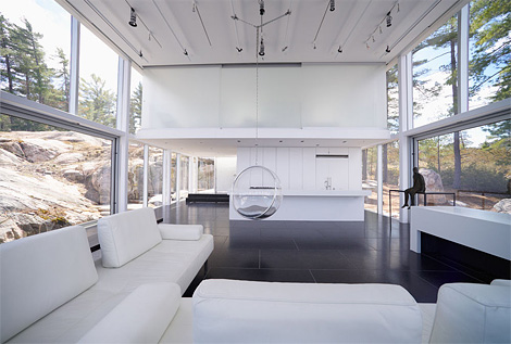 Photographer's studio and boathouse