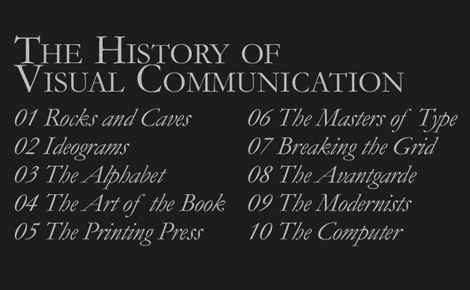 History of Visual Communication