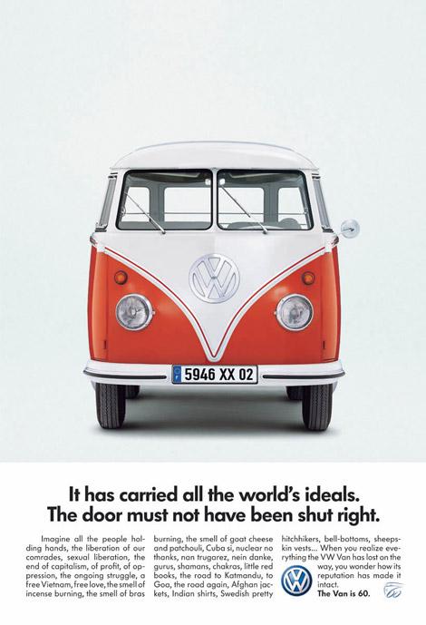 VW Combi ads
