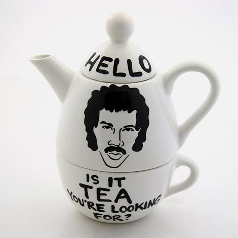 Hello, Lionel Ritchie Teapot