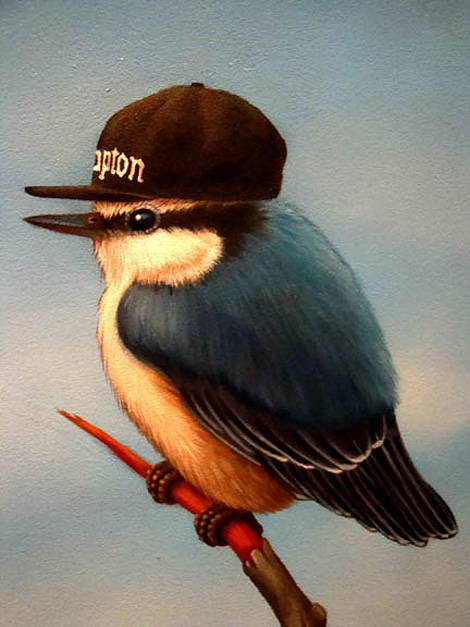 N.W.A. (Nuthatches with Attitude)