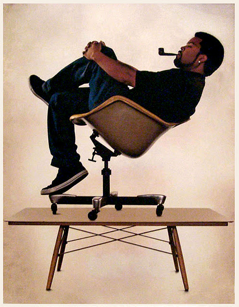 Ice Cube celebrates Eames