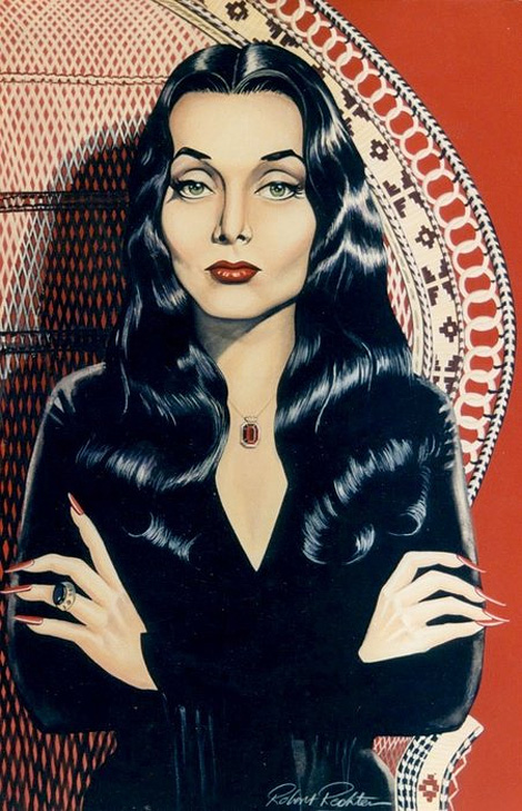 Morticia Addams♥