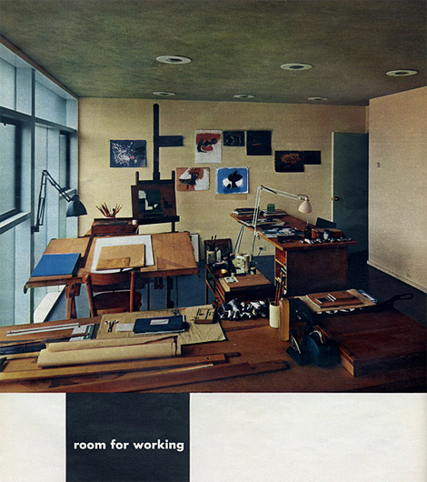 A room for working