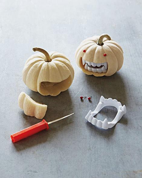 Vampire pumpkins
