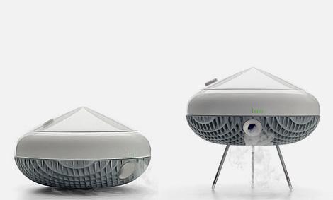 The Island air purifier