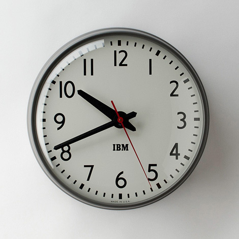 IBM Standard Issue Clock