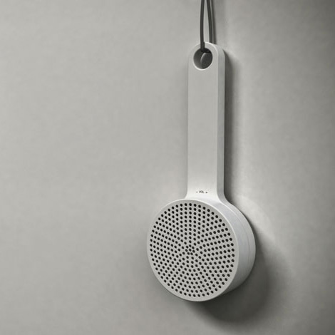 MUJI shower radio concept