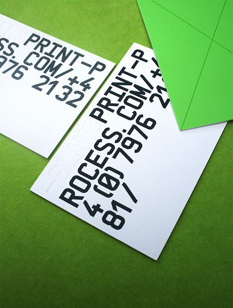 Print-Process business card