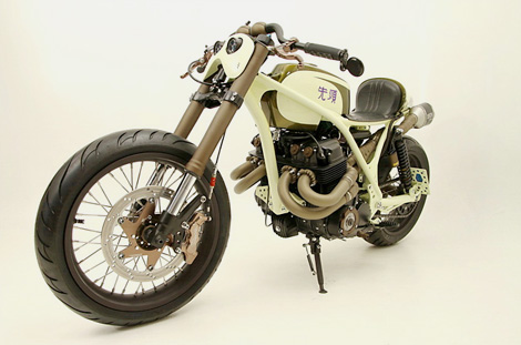 """Honda CB836CR """"Sentoh"""" - AFT Customs"""
