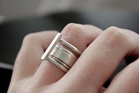 Anna Sheffield & Lindsey Thornburg Tear Drop Ring