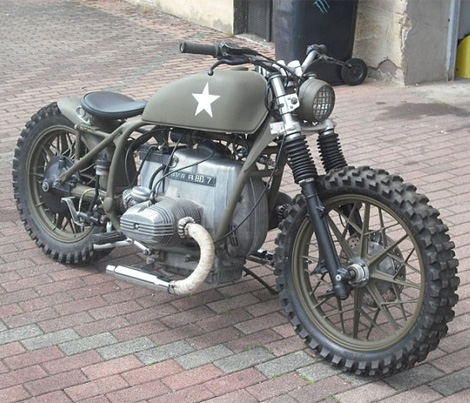BMW army custom