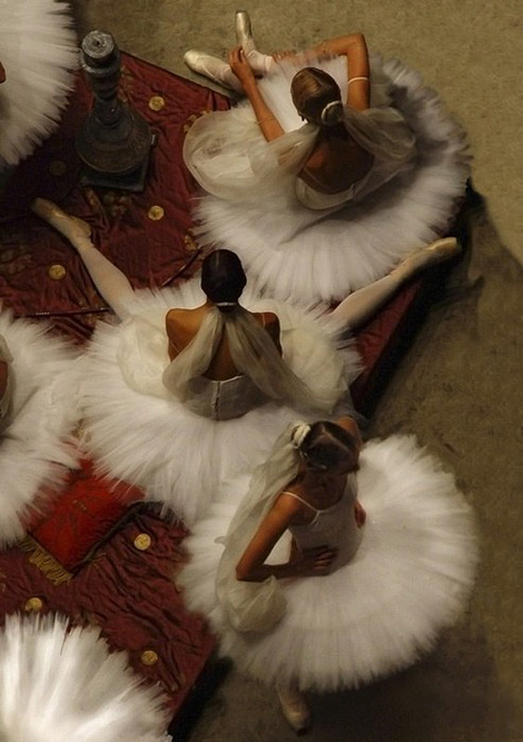 Degas: Ballerinas from Above