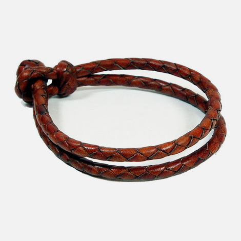 Joe V. Leather bracelet