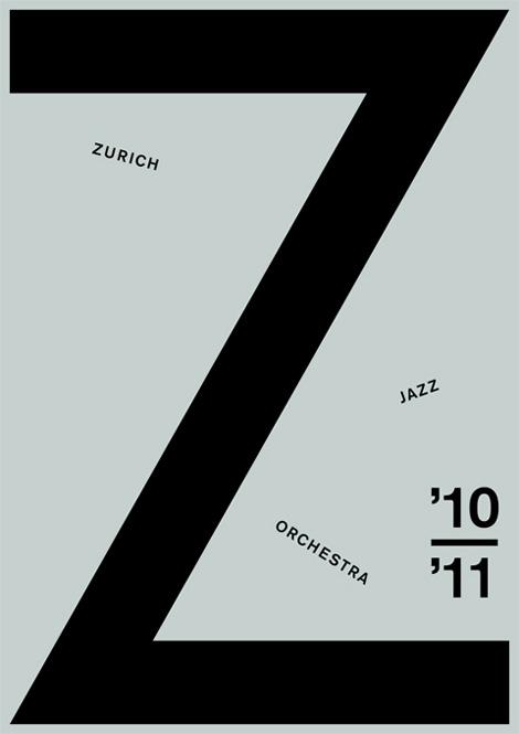 Katja Gretzinger: Zurich Jazz Orchestra poster