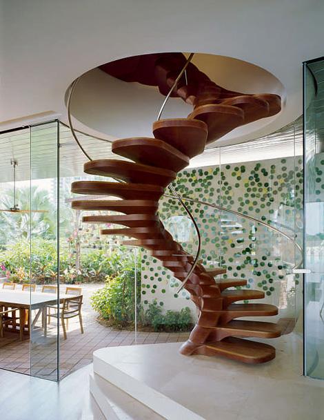Patrick Jouin spiral staircase