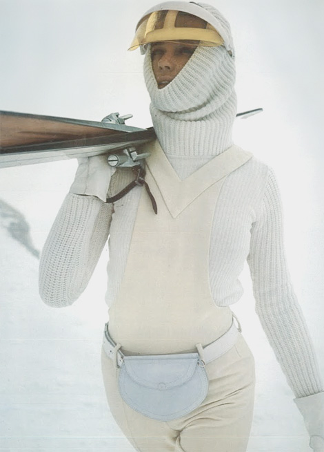 Pierre Cardin skiing outfit