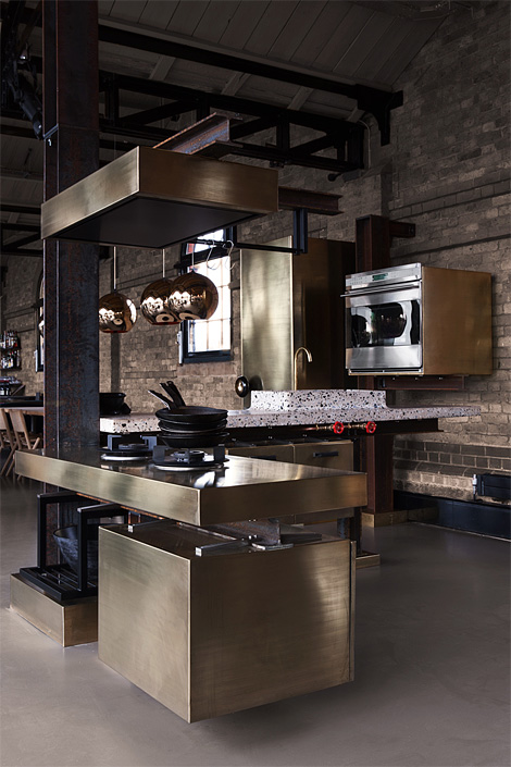 Tom Dixon: Beam kitchen