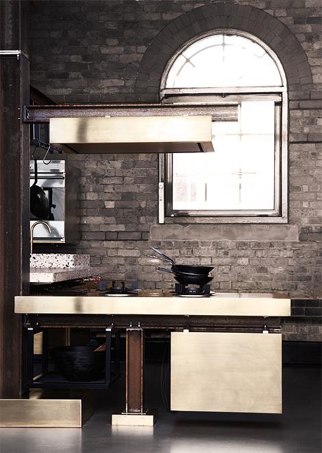 Tom Dixon: Beam kitchen