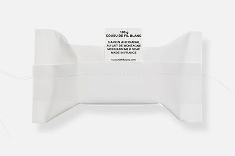 Cousu de fil blanc
