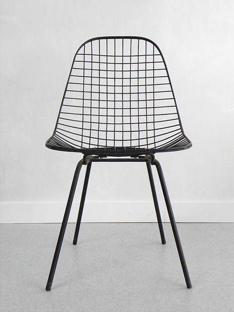 1950's Eames DKX Wire Side Chair