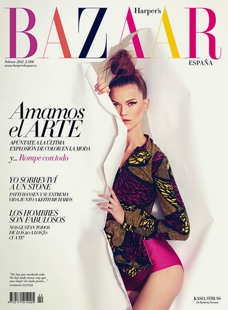 Harpers Bazaar Spain Feb 2012