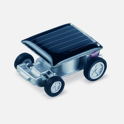 Mini solar powered car