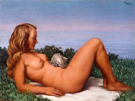 Olympia by René Magritte