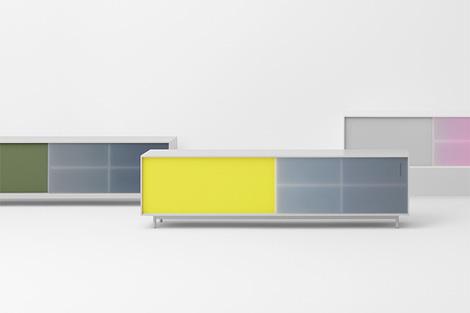 Shift sideboard by Scholten & Baijings for Pastoe