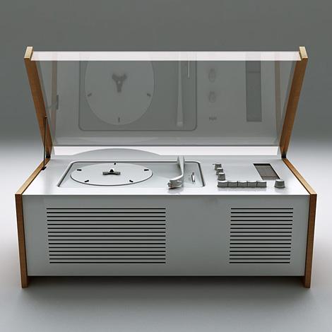 Braun SK4 record player