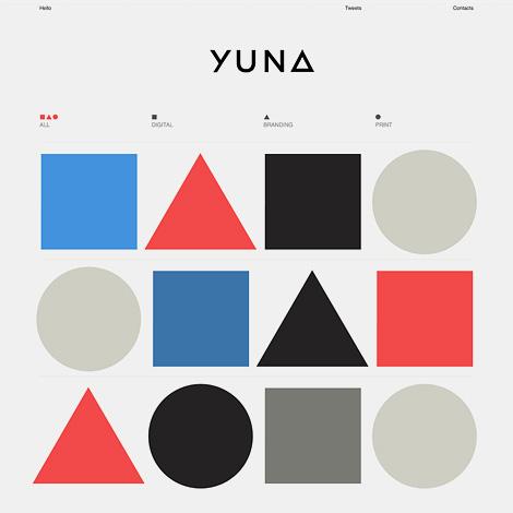 Yuna Kim website
