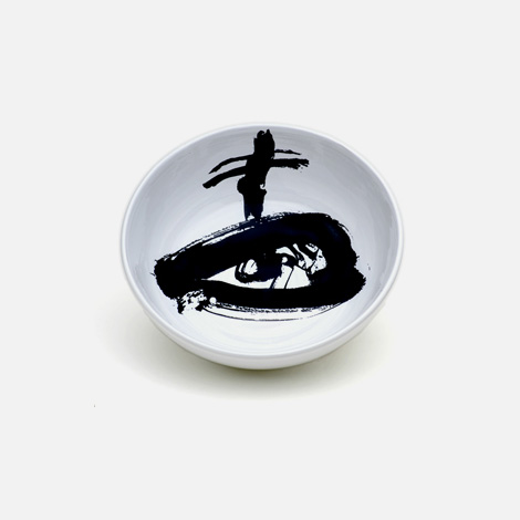 Antoni Tàpies ceramic bowl