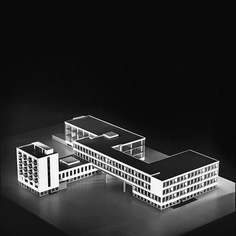 Bauhaus at Dessau x Walter Gropius