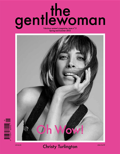 The Gentlewoman: Christy Turlington