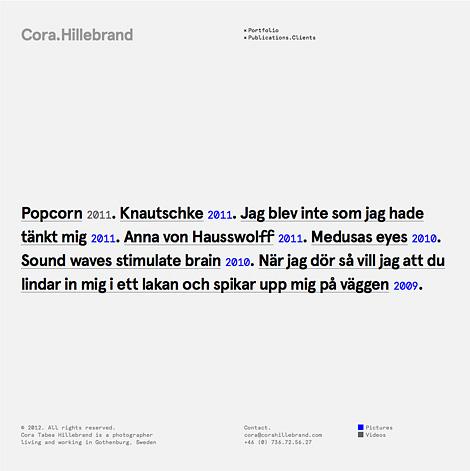 Cora Hillebrand