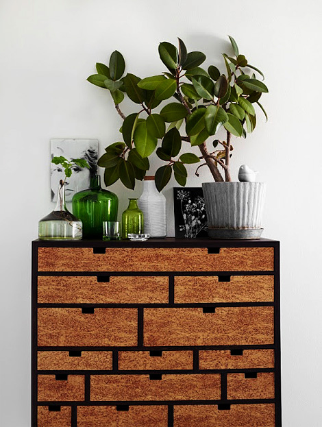 Cork drawers
