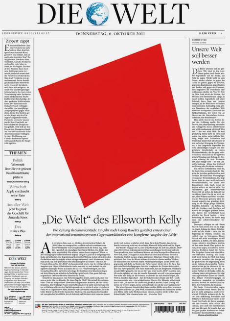 Die Welt: Ellesworth Kelly