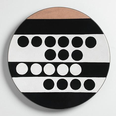 Ettore Sottsass polka dot plate